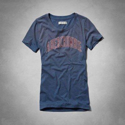 美國帶回A&F女生GRAPHIC SLUB TEE短袖T恤