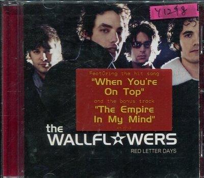*還有唱片行* TEH WALLFL WERS / RED LETTER DAYS 二手 Y1298