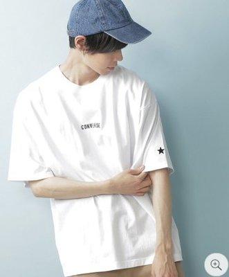 XinmOOn CONVERSE LOGO TEE 機能 經典 標語 休閒 上衣 短袖 短T 限定 WEB 男女