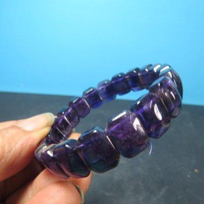 【競標網】高檔天然3A巴西紫水晶手排(回饋價便宜賣)限量5組(賣完恢復原價600元)