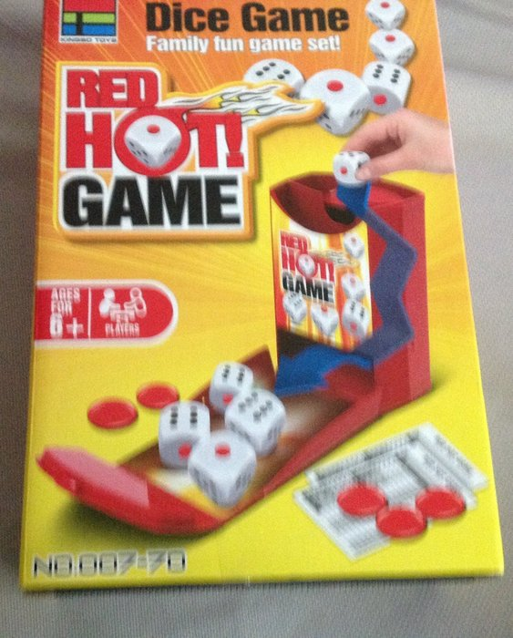 全新Dice game骰子遊戲