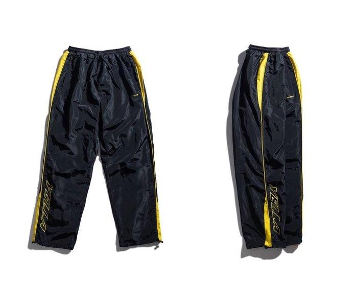 { POISON } MOONBLIND YELLA WATER PROOF TRACK PANTS 防水運動風褲