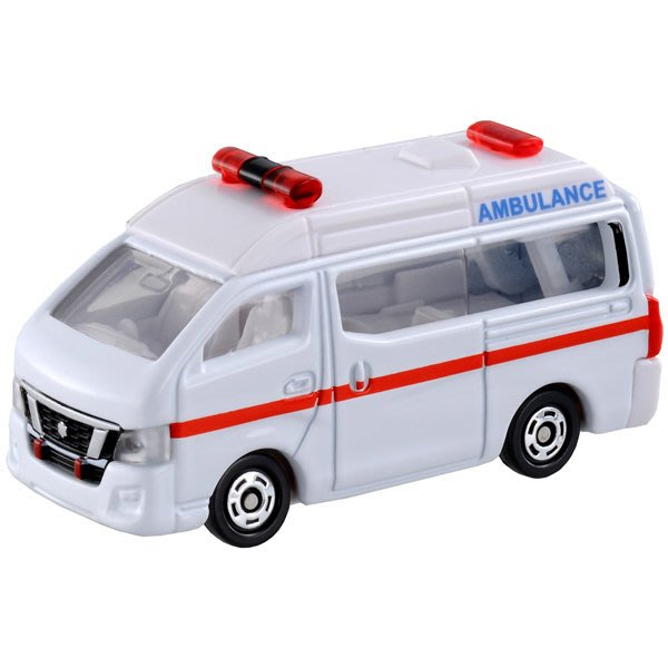 TOMICA 多美小汽車 No.018 日產NV350救護車 (TAKARA TOMY) 47106