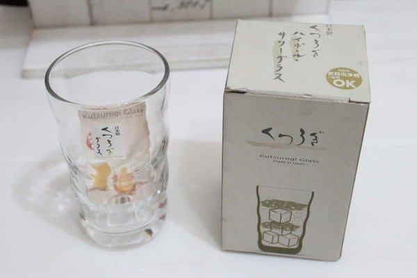天使熊小鋪~日本ZAKKA雜貨啤酒杯 日本製玻璃杯 水杯 曲線杯子 石塚硝子製~
