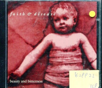 *真音樂* FAITH & DISEASE / BEAUTY AND BITTERNESS 二手 K29922