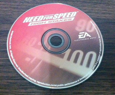 PC GAME--NEED FOR SPEED-HIGH STAKES極速快感-致命追擊 /2手