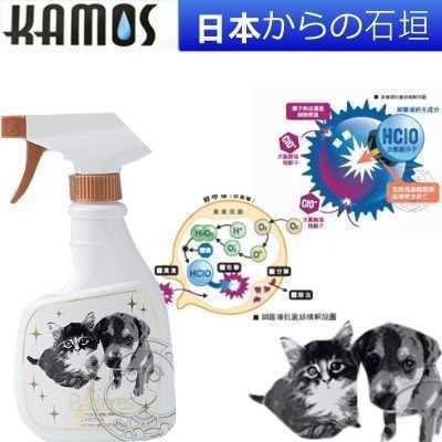 【🐱🐶培菓寵物48H出貨🐰🐹】日本KAMOSKA4》細菌塴抗菌消臭液350ml 尿臭的剋星 特價310元