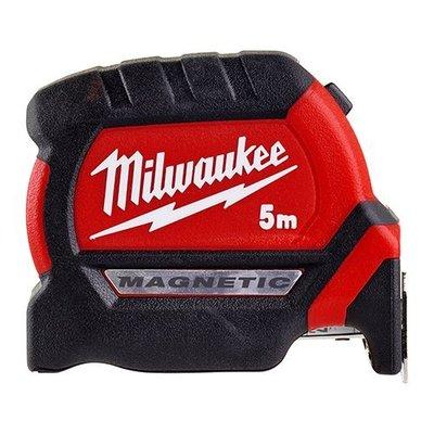 【花蓮源利】米沃奇 Milwaukee美國 48-22-0605 0608全公分磁性捲尺 磁吸 5M 8M耐摔雙面 米尺