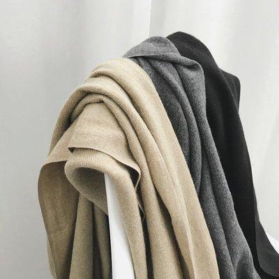 【UBY】店主推薦!自留三色超柔軟羊絨圍巾◄No11214