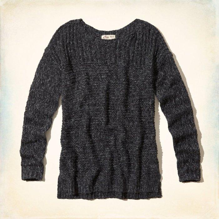 【天普小棧】HOLLISTER HCO Little Dume Sweater寬鬆款長版針織毛衣XS/S號