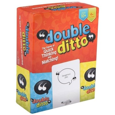 double ditto 全英文雙引號家庭親子聚會游戲卡牌