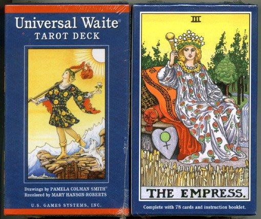 【牌的世界】偉特塔羅牌普及版Universal Waite tarot(78張中英文說明)