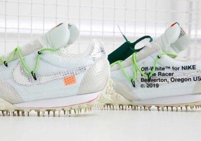 """白23全新 Nike x Off-White™ """"Athlete in Progress"""" W Waffle Racer"""