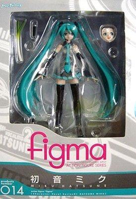 日本正版 figma 初音未來 MIKU 可動 模型 公仔 日本代購