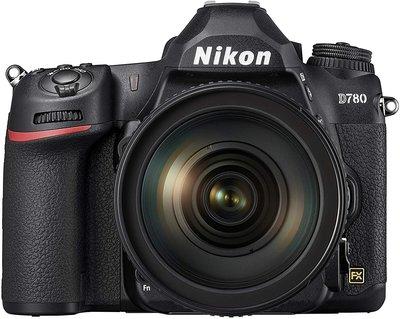 【高雄四海】Nikon D780 kit(24-120mm VR).全新平輸一年保固.4K 觸控螢幕.眼部對焦 D780