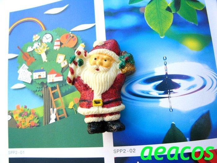 AEACOS@古董 古著 vintage retro MODs 聖誕節 聖誕佳節 聖誕老人 拐杖 聖誕紅 亮粉 別針胸針