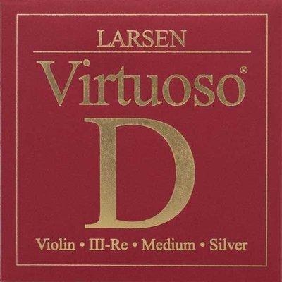 小叮噹的店- 小提琴弦 (第三弦 D弦) 丹麥 Larsen Virtuoso 紅 V5523