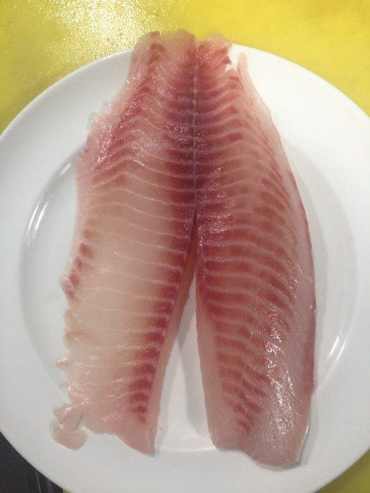 潮鯛魚片每公斤只要390元☆鴻德水產☆滿額免運