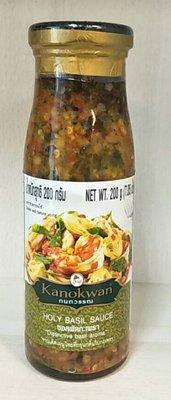 【喜樂之地】泰式打拋羅勒醬 200公克/罐
