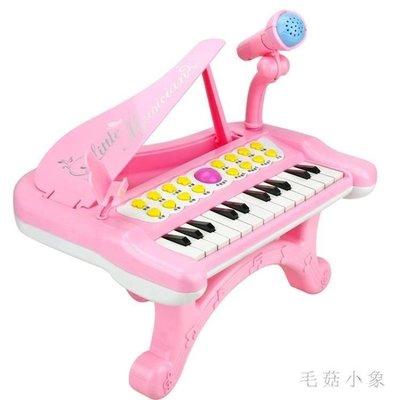 ZIHOPE 電子琴兒童初學女孩嬰幼兒童鋼琴嬰兒早教琴0音樂2玩具1-6歲寶寶ZI812