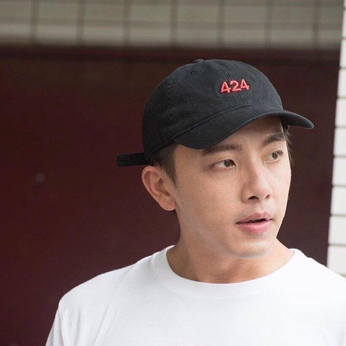 [ 羅崴森林 ] 現貨424坤達超帥玩美詮釋經典424紅Logo❤️黑老帽
