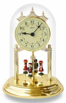 ❤德國製 Haller 旋轉鐘 Anniversary Clocks 水晶 玻璃 桌鐘 座鐘(大)掛鐘(非愛馬仕空氣鐘)