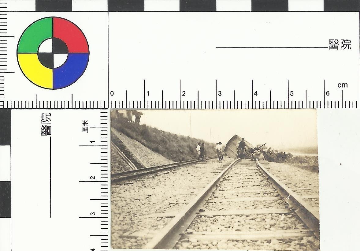 早期火車出軌照片