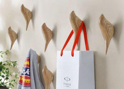 BS美學空間《3隻1組-獨立設計師文創商品‧北歐風格小鳥壁飾.掛勾.衣架.掛架-3隻1組/任選色》