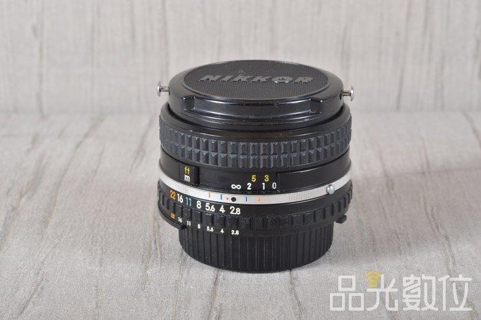 【品光攝影】NIKON AIS 28mm F2.8 手動對焦 老鏡 廣角 #94555T