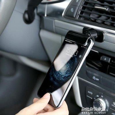 ZIHOPE 發光石重力車載手機支架汽車用導航支架多功能通用型卡扣式手機座ZI812