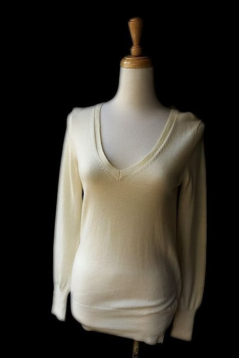 *Beauty*Gap米色羊毛長袖針織衫 M號 JW 售1200元  近全新
