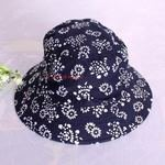 【蠟染印花帽-18款--3頂/組】純棉蠟染貴州特色特色帽子頭飾旅行休閒帽-35008