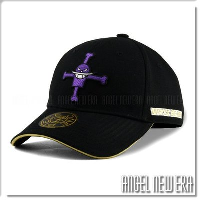 【ANGEL NEW ERA 】ONE PIECE 海賊王 航海王 白鬍子 經典黑 限定 老帽穿搭 東映授權 超夯