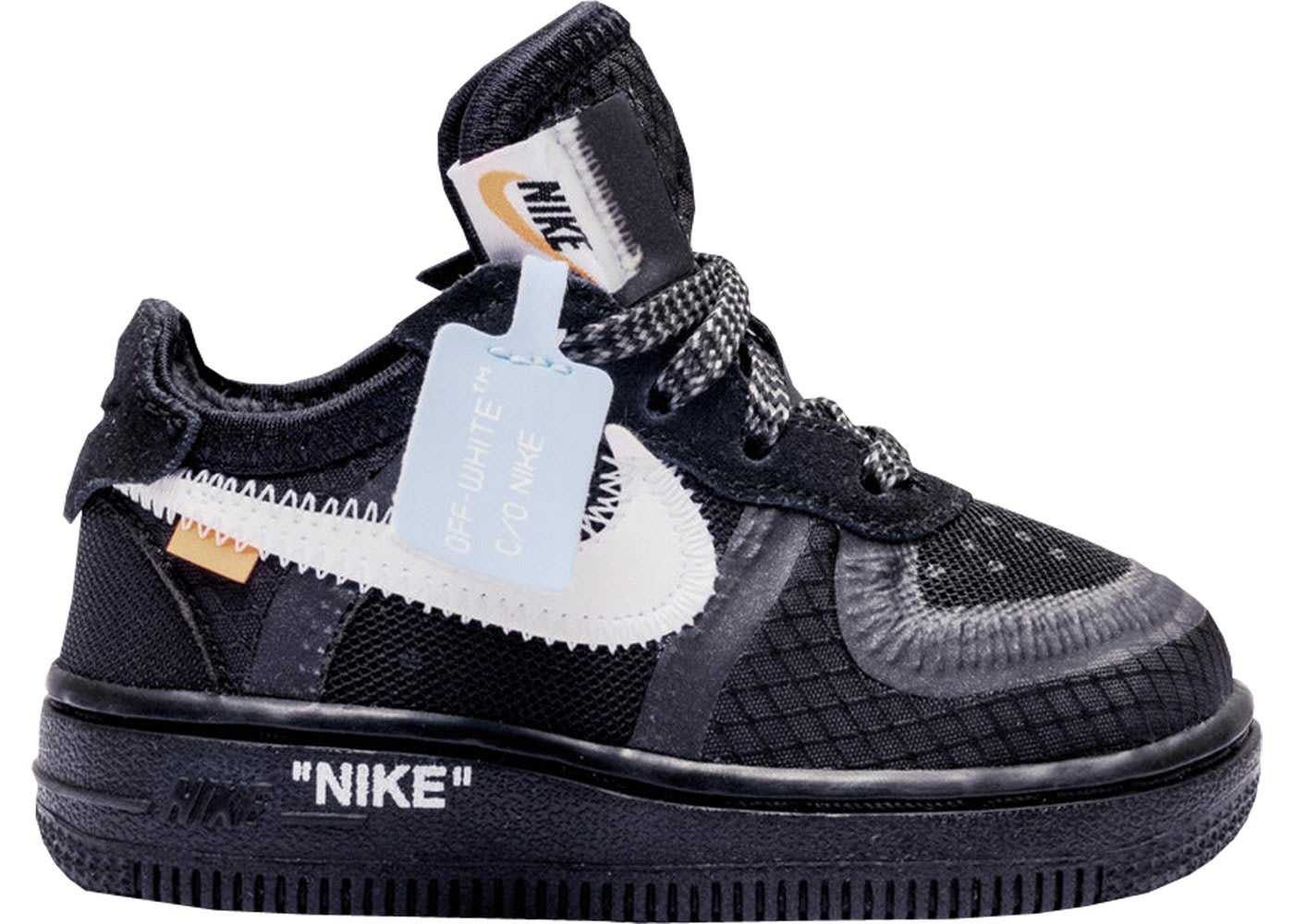 online store 88a13 047d1 Air Force 1 Low Off-White Black White PS黑色BV0853-001小童鞋