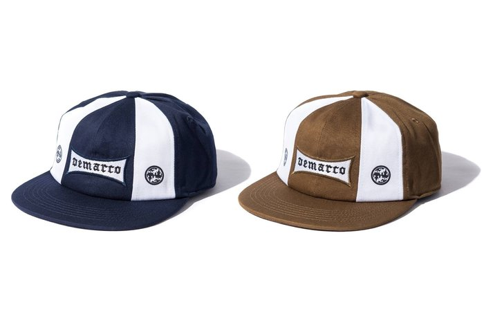 { POISON } DeMarcoLab ONLY4THE 8 PANEL 訂製布章 獨家八片軟襯棒球帽