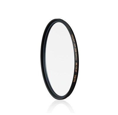 泳 相機 NiSi XD-W MCUV 58mm 超薄保護鏡16層多層鍍膜 EOS 1300D 1500D 100D