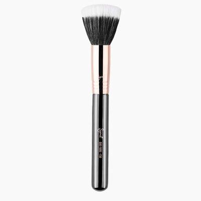 Sigma F50 - DUO FIBRE Brush (玫瑰金)【愛來客】美國Sigma官方授權經銷商 腮紅刷散粉刷