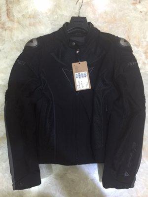 便宜賣全新DAINESE夏季防摔衣SUPER-SPEED-TEX 透氣/網狀54號(黑色)-G2龜背