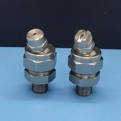 155不銹鋼萬向可調噴嘴扇形實心錐形噴頭低壓高壓清洗加濕噴霧頭