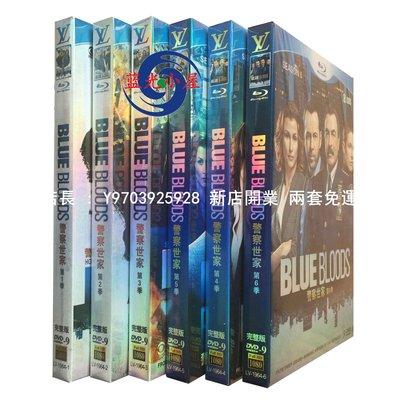 高清DVD音像店 美劇 Blue Bloods 警察世家1-6季 完整版 18碟裝盒裝 兩套免運