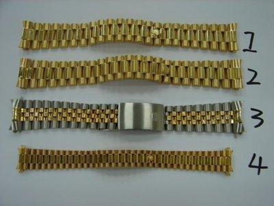 台中玖泰流當品 原裝 ROLEX勞力士 2手 18038 18238 69178 16233 18K金 錶帶 ZR085