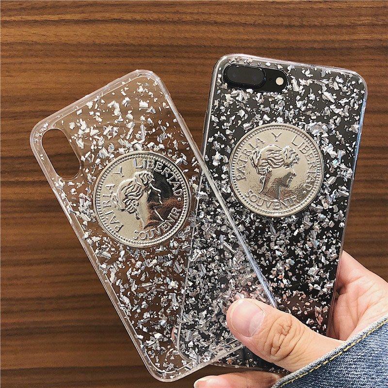 iphone手機殼 ins閃粉iphone手機保護 空殼 潮男必備 限時折扣 南山先生