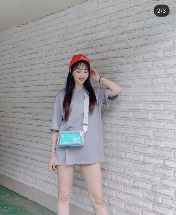 【Luxury】韓國 STRETCH ANGELS 帕尼尼 冰果凍包 雷射相機包 防潑水設計 粉藍銀 肩背包 韓國代購