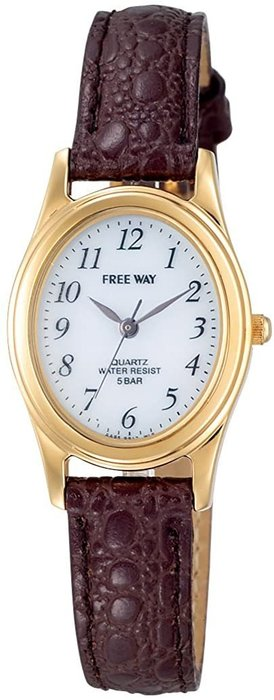 日本正版 CITIZEN 星辰 Q&Q AA95-9917 腕錶 女錶 女用 手錶 皮革錶帶 日本代購