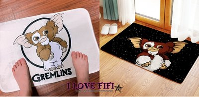❤FIFI in jp❤美國Gremlins菲比小精靈防滑短絨地毯地墊 五款