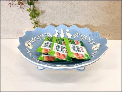 比得兔系列--北歐風藍色立體彼得兔子水果盤 波麗製藍白色糖果盤高果盤桌上收納盤點心盤祝賀入厝送禮品 正版授權【歐舍傢居】