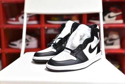 【H-SHOP】Nike Air Jordan 第一代系列黑白熊貓籃球鞋*EU39~44。S90816