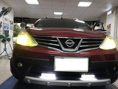 車酷中心  NISSAN LIVINA TIIDA SENTRA ROGUE  LED大燈 LED霧燈 2500元