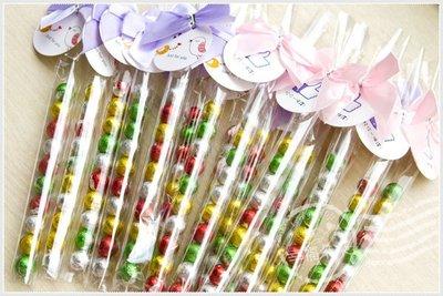 幸福朵朵【專屬吊牌繽紛巧克力球串(10顆入)】-二次進場/來店禮/創意喜糖/慶生會/畢業禮物/情人節活動/婚禮小物