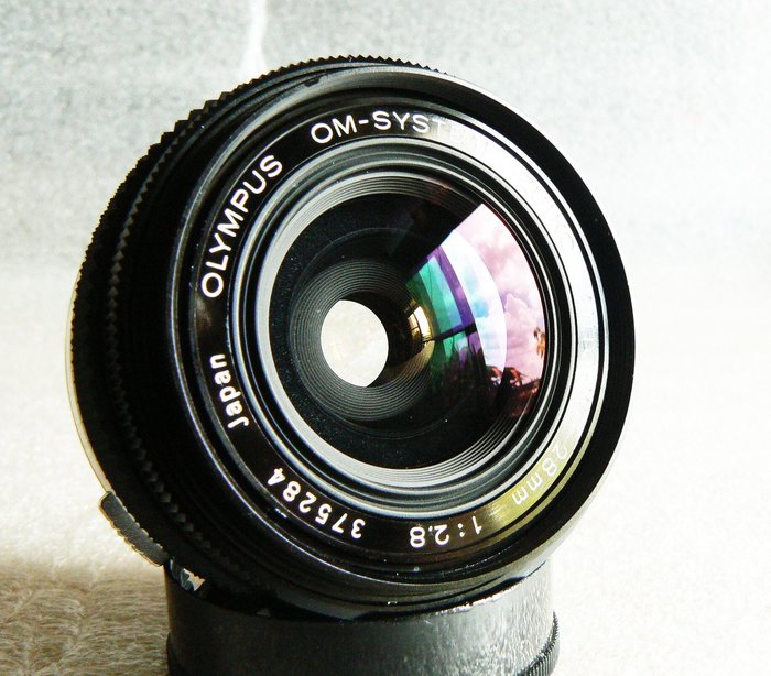 【悠悠山河】近新品 稀有OM大光圈廣角OLYMPUS 28mm F2.8 ZUIKO AUTO-W A7III,富士微單